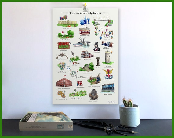 The Bristol Alphabet Print Signed Fine Art Print