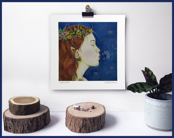 Mother Earth Signed Fine Art Print