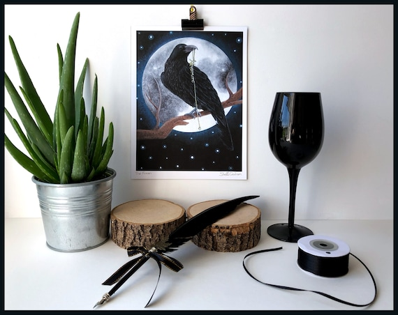 The Raven Signed Fine Art Print