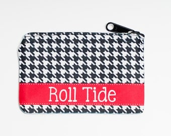 Personalized Coin Purse - Design Your Own - Personalized Zipper Pouch - Gifts by Mad For Monograms