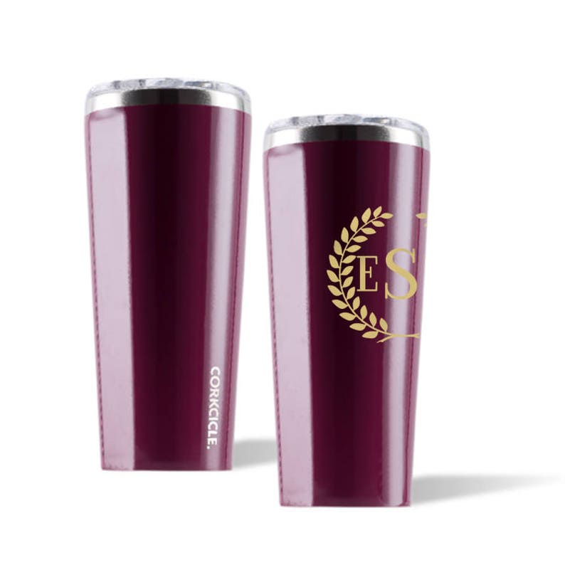 175f21000a1 Merlot Corkcicle Personalized Tumbler Engraved Corkcicle | Etsy