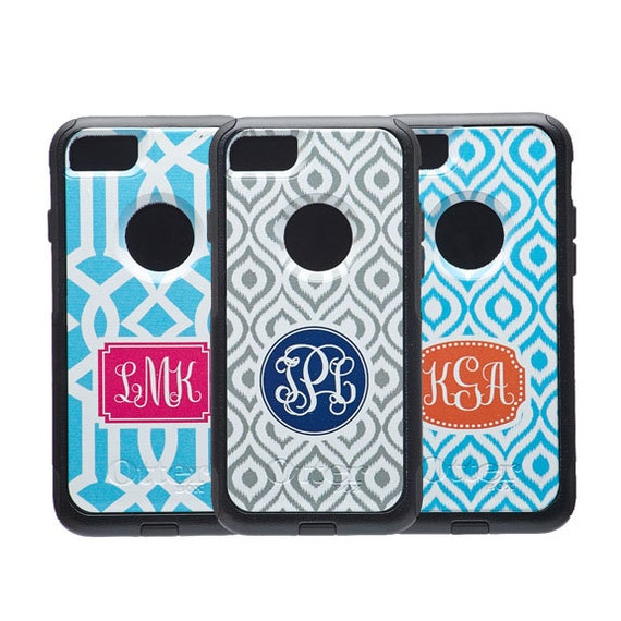 monogram iphone 7 case custom iphone case personalized etsy
