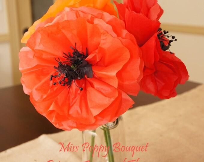 Miss Poppy Bouquet Set of Three