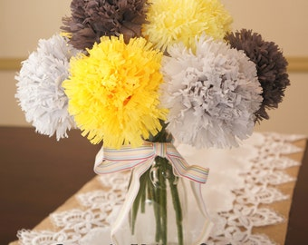 Tissue Paper Flowers 12 Other Color Options