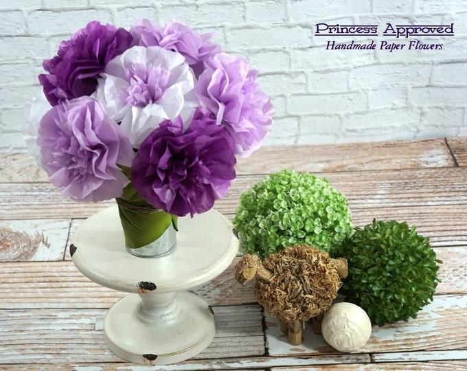 Summer Purples Bouquet (9 flowers)