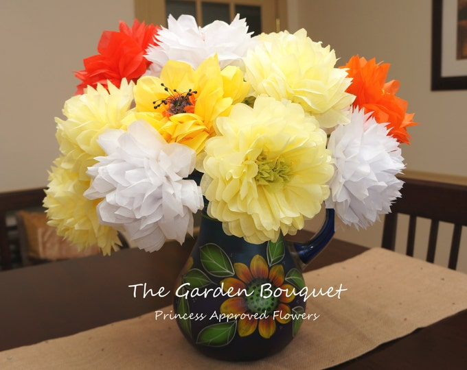 The Garden Bouquet (Extra Large Tissue Paper Flowers)