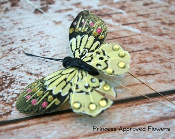 Butterfly Pick - CITRUS GREEN