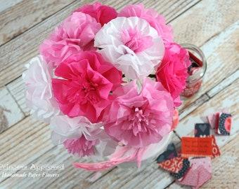 Summer Pinks Bouquet (9 flowers)
