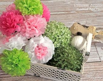 Spring Tissue Paper Flower Bouquet
