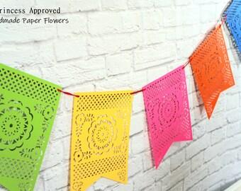 Papel Picado Fiesta Banner