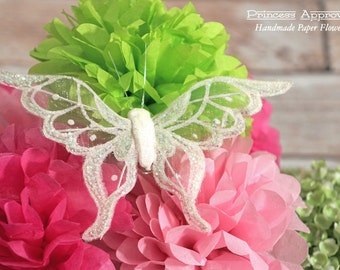 Butterfly Clip - White