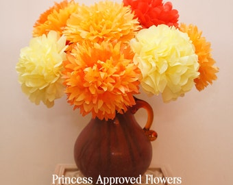 Autumn / Fall Bouquet Tissue Paper Flowers