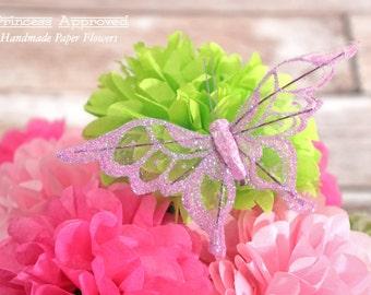 Butterfly Clip - Purple