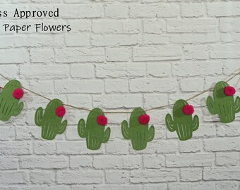 Cactus Garland - Banner