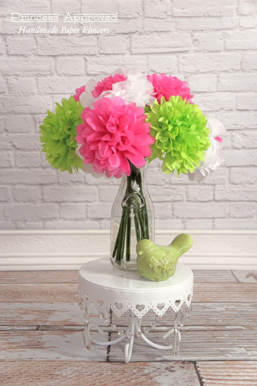 Spring tissue paper flower bouquet izmirmasajfo