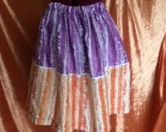 Jekyll Skirt-Purple Orange