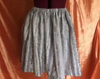 Ivy Gathered Skirt-Grey