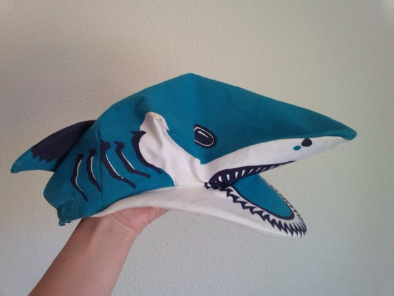 Shark Hat England Shark Cap Shark Halloween Costum