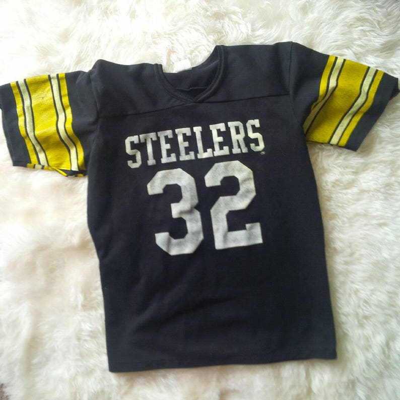 purchase cheap efa7e 26080 Pittsburgh Steelers Jersey Vintage Number 32 Franco Harris Steelers