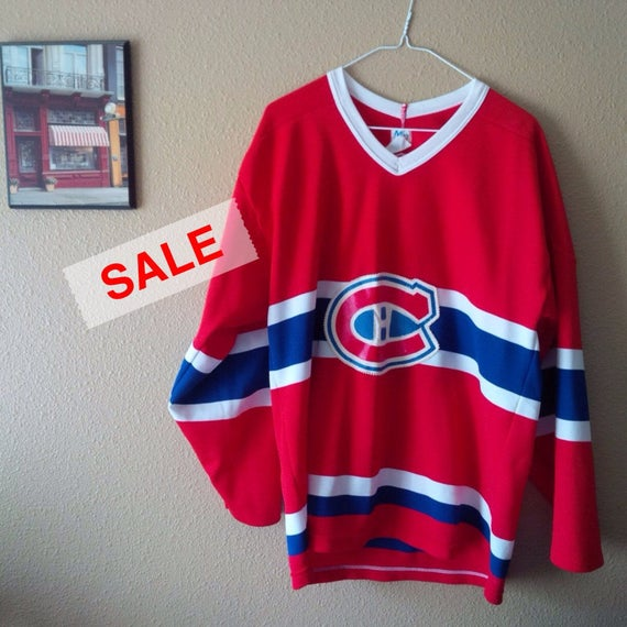 Vintage Hockey Jersey Habs Montreal Canadiens Hock