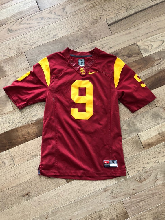 new product df44b 451ec USC Team Jersey Football NFL Jersey Offical Team Southern California  official player jersey game jersey