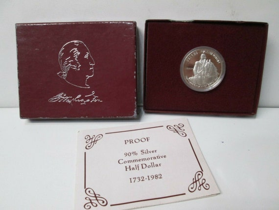 1983 PROOF S  OLYMPIC SILVER DOLLAR COMMEMORATIVE COIN WITH BOX//COA