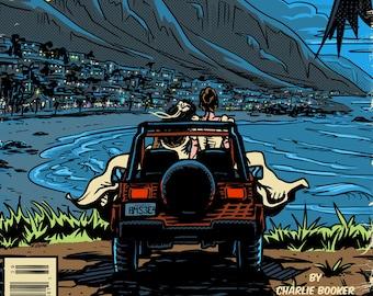 San Junipero Vintage Cover Art