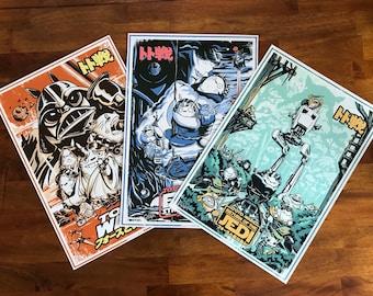 Toto Wars (Classics) Art Print Set