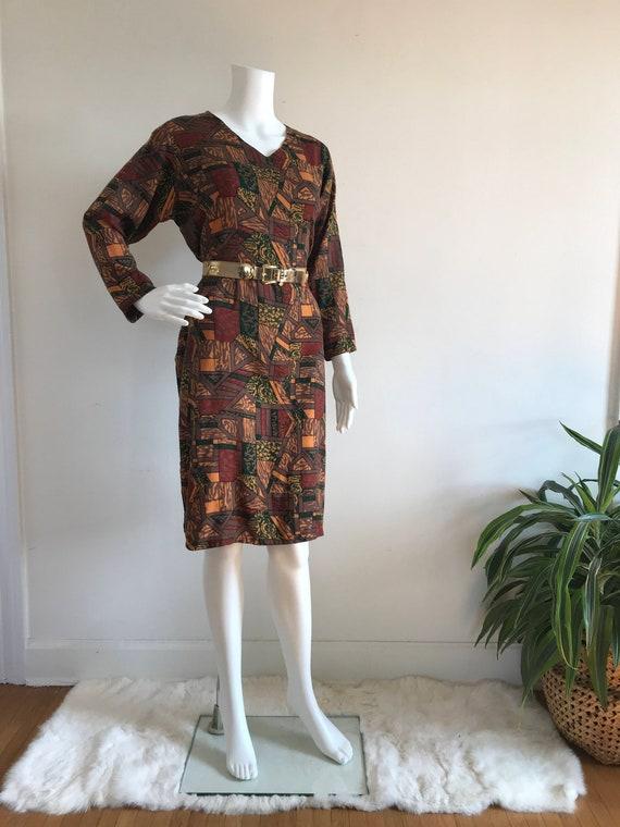 Vintage Tunic Shift Dress