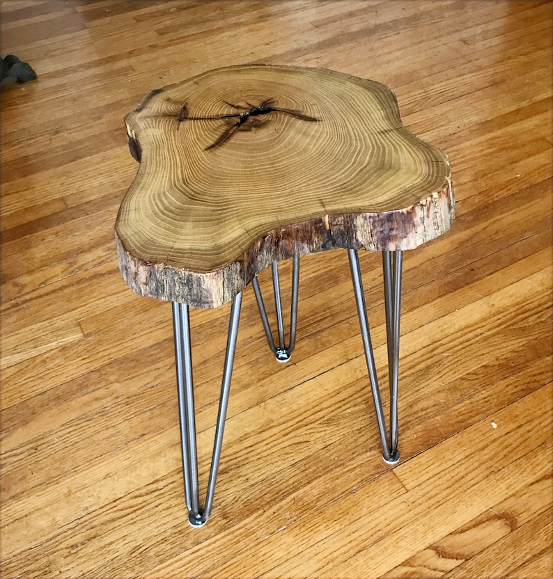 Exceptionnel Live Edge Coffee Table Of Locust Slab Wood, Live Edge Accent Table, End  Table, Wood End Table, Side Table