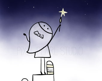 Paint the Sky With Stars Print