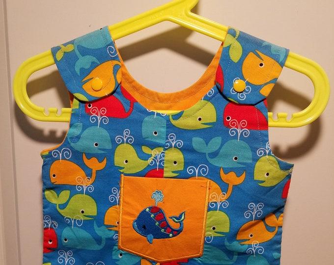 Clearance Short Overalls Size Infant 3-6 Months sunfaded shoulders