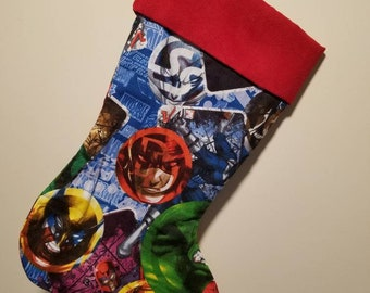 Christmas Stockings Super Hero 3 15 inches