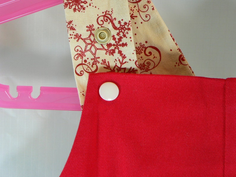 Clearance red ice skating overalls size 1T or 12 to 18 months with snowflake straps
