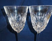 Pair of Waterford Colleen Wine Stems 7 quot