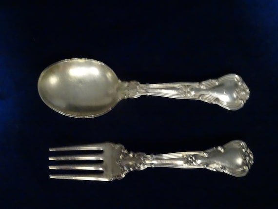 VERY GOOD CONDITION M GORHAM CHANTILLY STERLING SILVER PLACE FORK OLD MARK