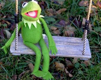 70s Retro Kermit der Frosch Plüschtier The Muppet Show beweglich
