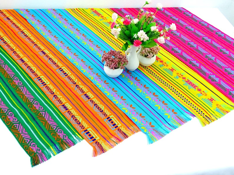 74fdadeb7 Cinco de Mayo 5 Table runners 14x72 Inches In diferent