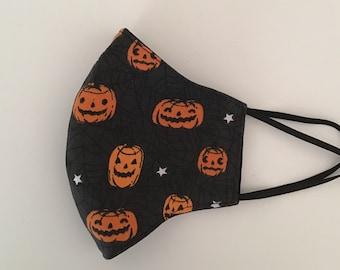 Halloween Face Mask: Adults & Children