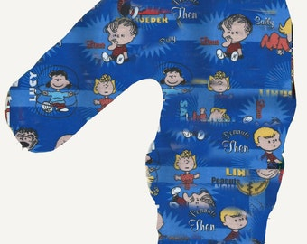 Charlie Brown Fabric Car Seat Pillow CHILDREN ADULT Travel Couch Neck