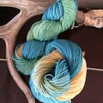 Versatile dk weight, Flat Rate Shipping, Hand dyed, superwash, Merino wool yarn. 100g. washable supersoft wool yarn.