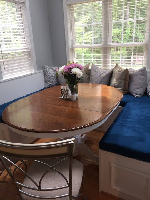 Astonishing Kitchen Dining Banquette Bench Cushions Custom Made Example Onthecornerstone Fun Painted Chair Ideas Images Onthecornerstoneorg