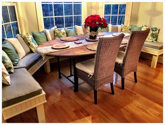 Terrific Kitchen Dining Banquette Bench Cushions Custom Made Example Onthecornerstone Fun Painted Chair Ideas Images Onthecornerstoneorg