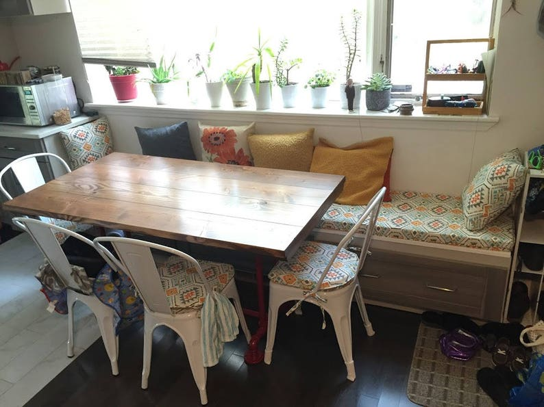 Kitchen Dining Banquette Bench Cushions Custom Made Example Etsy