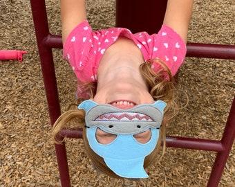 Shark Mask - Shark Kids Mask - Shark Play Mask - Dress Up Mask - Pretend Play Mask - Play Pretend Toys - Toddler Toys