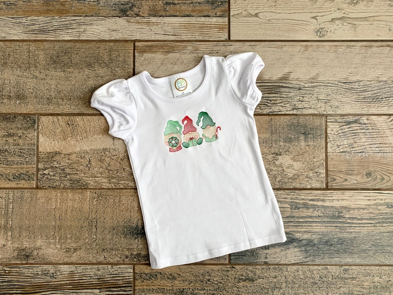 Gnome Kid's Shirt  Christmas Gnome Shirt Kids  Kids image 0