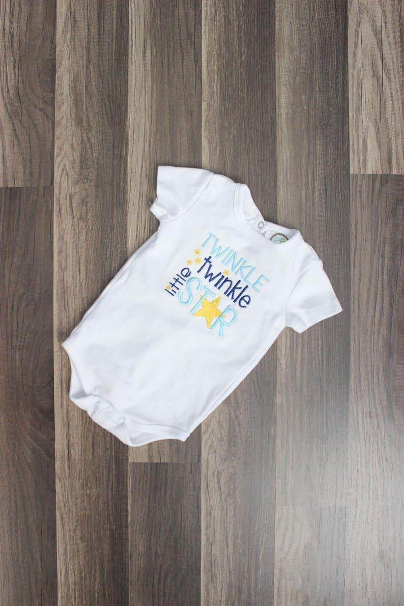 Twinkle Twinkle Little Star Bodysuit  Gender Neutral One image 0