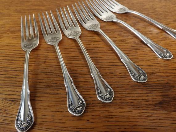 S Dessert Fork Inheritance silverplate Rogers Salad