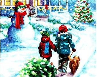 Counted Cross Stitch Kit CHRISTMAS TRADITION Dimensions New Release!
