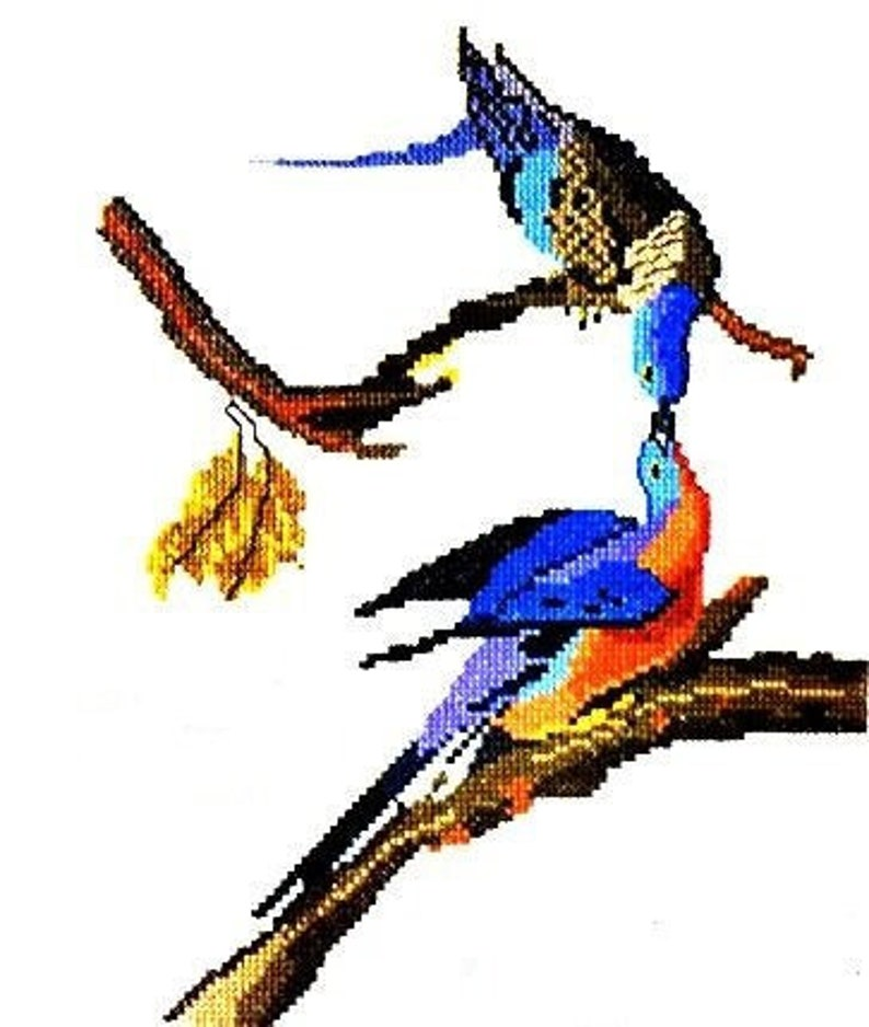 Dover Needlework Series Audubon Birds In Cross Stitch Ginnie Thompson Charted Design Needlework Bird Pattern Book Linen Patterns To Stitch